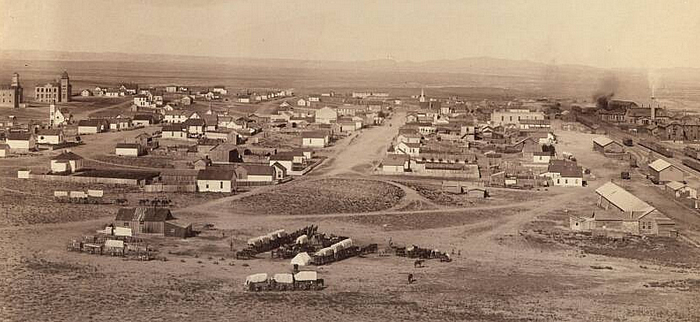 Rawlins, Wyoming 1892